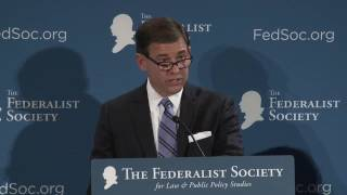 Click to play: Justice Scalia on Federalism and Separation of Powers - Audio/Video