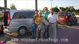 preview picture of video 'Voyage Transfers Airport to Denizyaka Hotels'