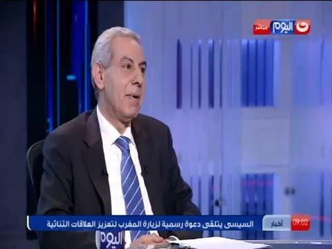 برنامج يوم بيوم على قناة النهار اليوم ولقاء مع وزير التجارة والصناعة حول وضع الاقتصاد المصرى
