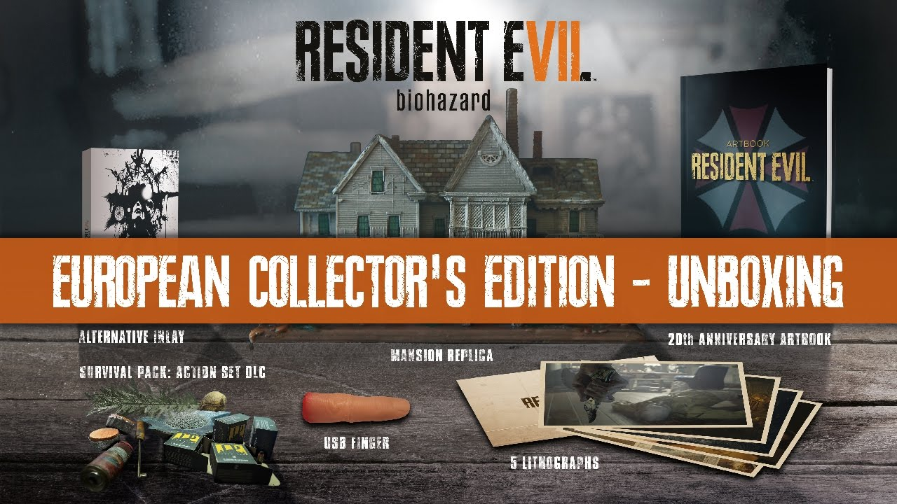 Resident Evil 7 biohazard - Video unboxing della Collector's Edition