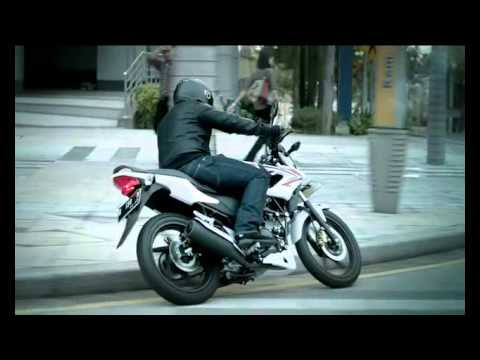 Honda CB150R StreetFire Video