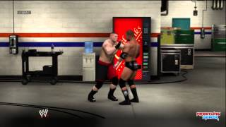 WWE RAW 5/6/13 Brock Lesnar visits WWE HQ and Trashes Triple H's office! Preview