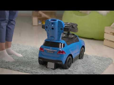 """Машина-каталка """"Mercedes-Benz AMG GLE"""" синий CLB3288"""