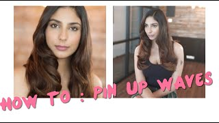 How to do Pin Up Waves