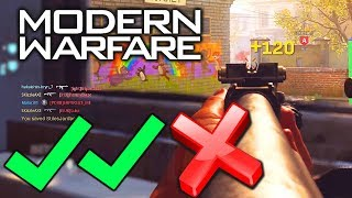 🚫 (i was wrong) Modern Warfare Review: POST NUT CLARITY 🍆 - COD 2019 MW4 Gameplay
