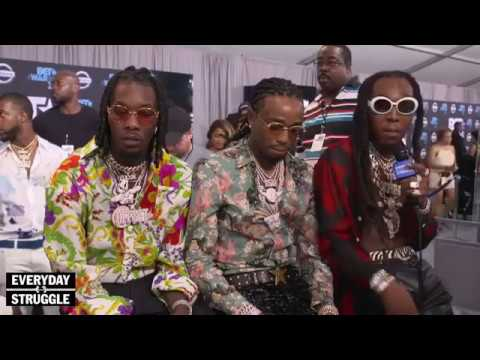 MIGOS AND JOE BUDDEN INTERVIEW GETS HEATED AT BET AWARDS 2017