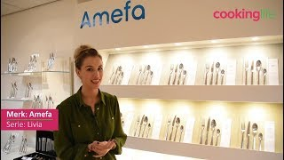Amefa Bestekset Livia Trendy Mix&Match 84-Delig - Houtenkist