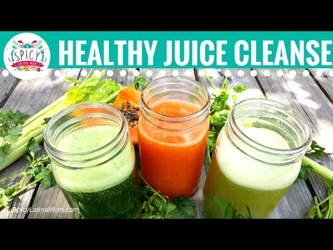 Video 3 Juices for Colon Cleansing | Colitis and Constipation Remedies | Spicy Latina Mom