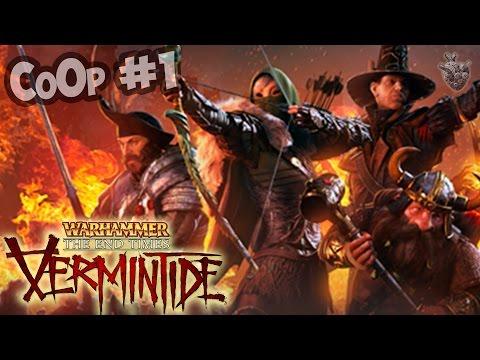 БОРЬБА С ПАРАЗИТАМИ НАЧИНАЕТСЯ ► Прохождение Warhammer: End Times - Vermintide [60 fps] КоОп #1