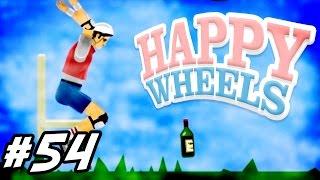 THE ULTIMATE BOTTLE FLIP!    Happy Wheels #54