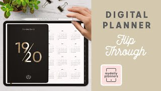 Digital Planner On IPad Pro | How To Use Hyperlinks In Digital Planner Goodnotes