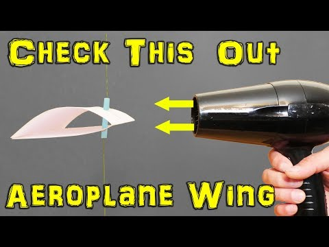 Fascinating: How Does a Plane Wing Work?