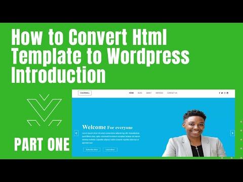 How to Create Custom WordPress Theme Part One
