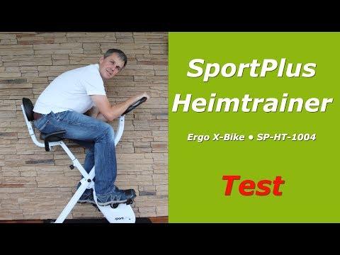 Sportplus Heimtrainer/ X-Bike im Test