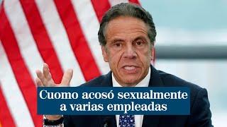 El gobernador de Nueva York, Andrew Cuomo, acosó sexualmente a varias empleadas