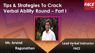How to Crack Verbal Ability in Placements - Part 1