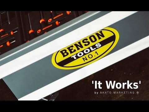 Benson Tools   'It Works!' // by AKATO:MARKETING.®