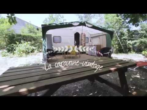 Caravane vintage camping les chamberts