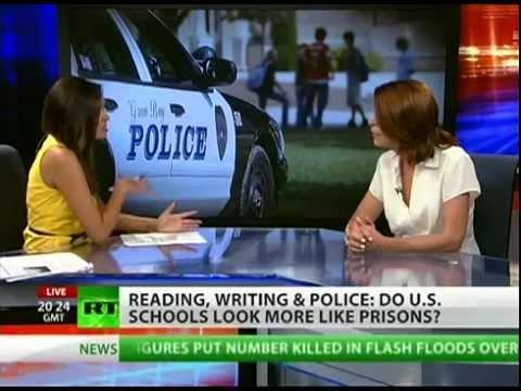 Are American schools criminalizing childhood behavior?