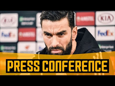 Patricio on playing in Portugal and Europa League ambitions   Pre-Braga press conference