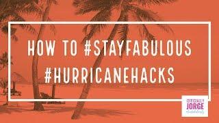 Officially Jorge's #HurricaneHacks
