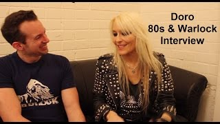 Doro Pesch - 80s & Warlock Interview (English Subtitles)