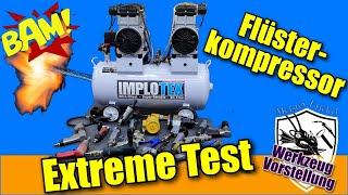 Implotex flüsterkompressor extrem Test