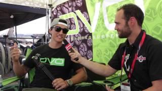DVO Suspension with Jenson USA at Interbike 2013