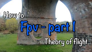 How to fly fpv racing drone - part 1- theory