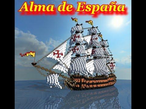 Spanish Man o' War: Alma de España Minecraft Project
