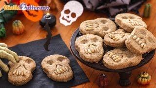 Skull Cookies - Halloween Recipe