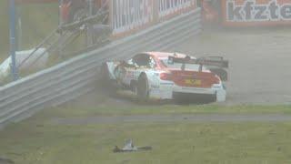 DTM - Zandvoort2016 Race 1 Farfus Crashes Amateur