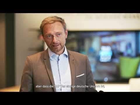 Christian Lindner, Bundesvorsitzender der FDP, bei Microsoft Berlin