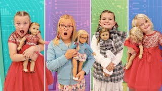 WHO Is The BEST TWIN!? TWIN Vs TWIN American Girl Challenge
