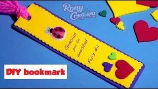 Book lover Bookmark DIY - back to school ideas