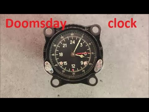 Soviet 55M (129ChS) Doomsday clock teardown