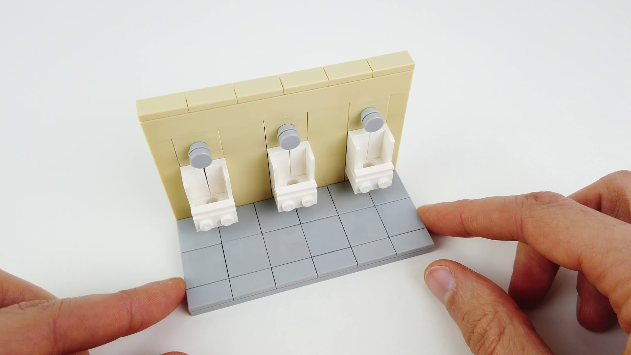 LEGO Urinals (Tutorial)