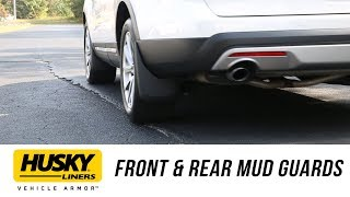 In the Garage™ with Total Truck Centers™: Husky Liners Front & Rear Mud Guards