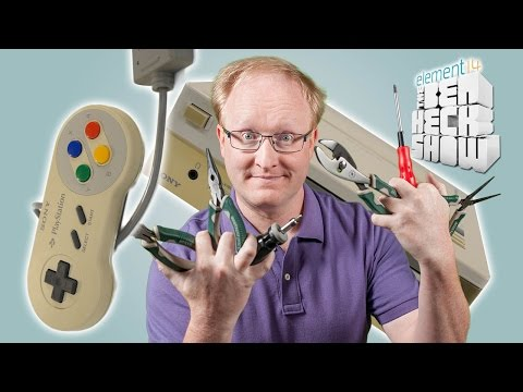 Ben Heck's Nintendo-Playstation Prototype Pt 1 Teardown
