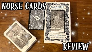 NORSE DIVINATION CARDS REVIEW 🔮🌟 HONEST OPINION & DECK FLIP THROUGH