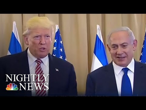 President Trump Resurfaces Russia Oval Office Intel Incident While In Israel | NBC Nightly News
