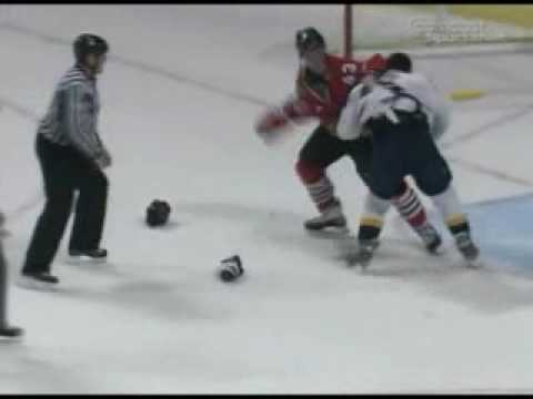 Jordin Tootoo vs James Wisniewski
