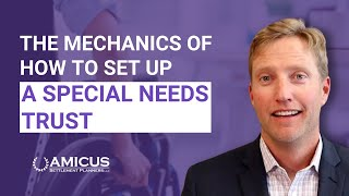 The Mechanics of How to Set Up a Special Needs Trust