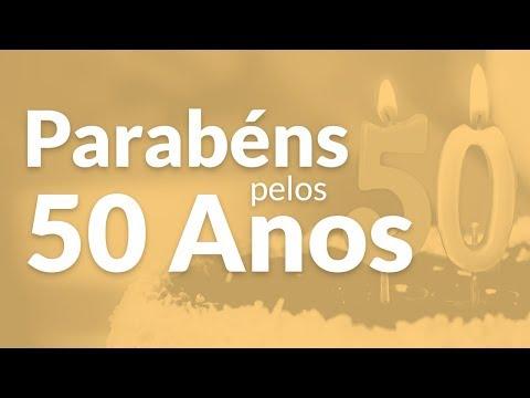 Mensagem De Aniversário De 50 Anos Mensagens De Aniversário
