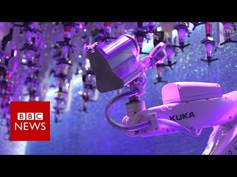Robot camarero de barra