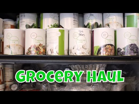 January Grocery Delivery With Linda's Pantry