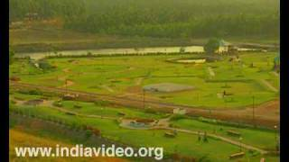 The Kanjirappuzha dam - an attractive picnic spot