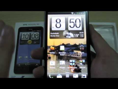 HTC Velocity 4G - Overview