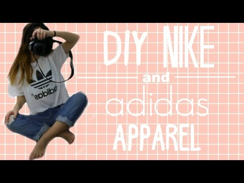 DIY NIKE AND ADIDAS APPAREL // Melanie Locke