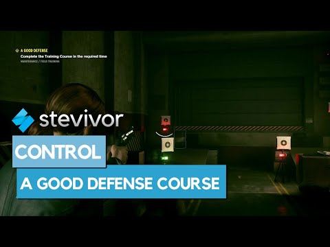 Control: How to complete the training course in A Good Defense ...